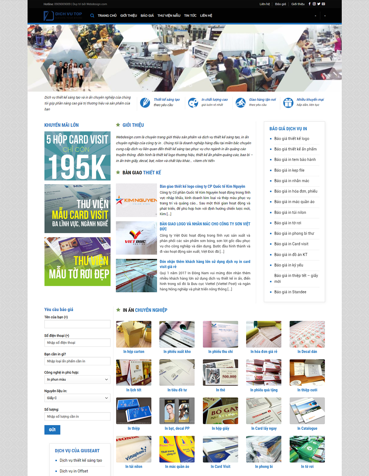 Website in ấn 02